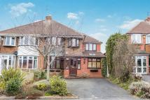4 bedroom semi detached property in Tennal Lane, BIRMINGHAM