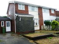 semi detached home in Conway Crescent, Tonteg...