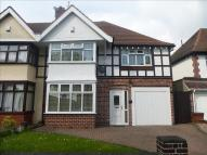 semi detached house in Robin Hood Lane...