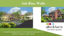 new house for sale in Ash Rise, Wells