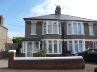 semi detached property for sale in Franklen Road, Cardiff