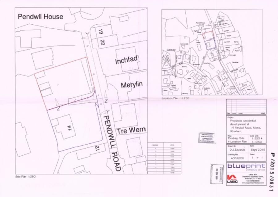 Land for sale in pendwll road moss wrexham ll11 malvernweather