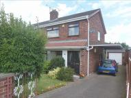 semi detached property for sale in Parkfield Drive, Helsby...