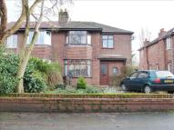 3 bed semi detached home in Vale Road, Hartford...