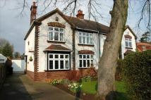 semi detached house in Doncaster Road, Bawtry...