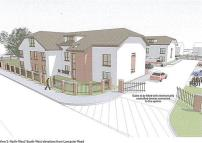 new development for sale in Lancaster Road, Hucknall...