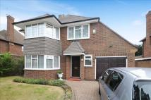 Detached house in Sugden Road...