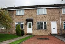 Terraced house in Calvert Close, Haxby...
