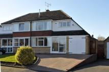 3 bed semi detached home in Drew Crescent, Pedmore...