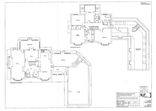Ground & 1st Floor Plan