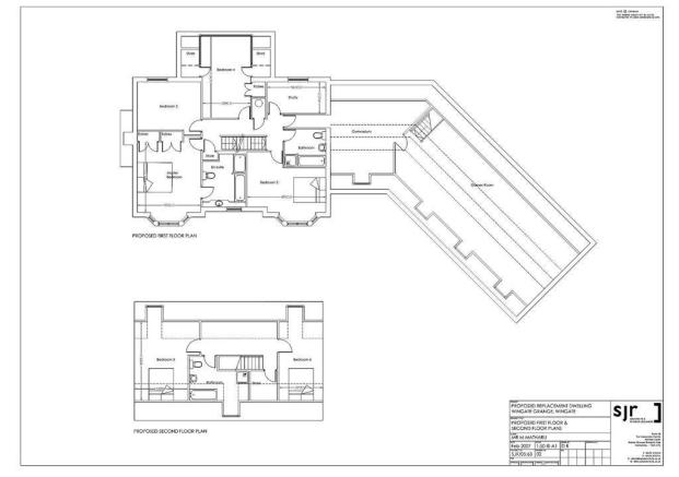 1st & 2nd Floor Layouts