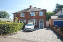 semi detached house in Holmfield Avenue West...