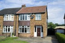 3 bed semi detached home for sale in Station Road, Ackworth...
