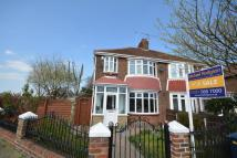 semi detached property for sale in Dykelands Road, Seaburn...
