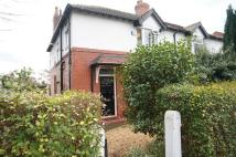 semi detached house in Beaver Road, Didsbury...