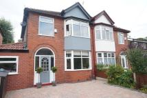 semi detached house in Wensley Drive, Didsbury...