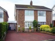 semi detached property in Oak Road, Brewood...