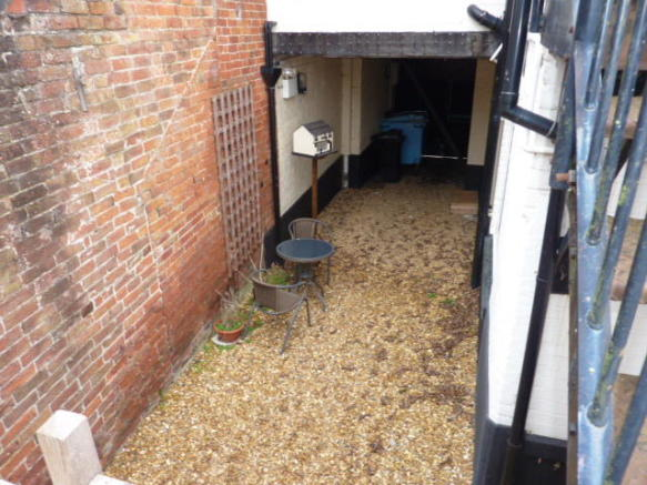 Side Courtyard (with further potential)