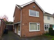 semi detached house in Weston Road Albrighton