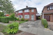 3 bed semi detached home for sale in Oakwood Park Road...