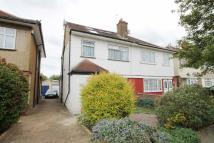 Adelphi Crescent semi detached house for sale