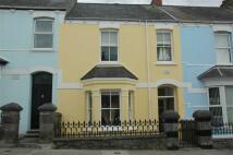 Terraced property in Trafalgar Road, Tenby...