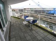 Flat to rent in Sovereign Quay...
