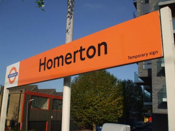 HOMERTON OVERGROUND