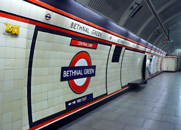 BETHNAL GREEN STATION