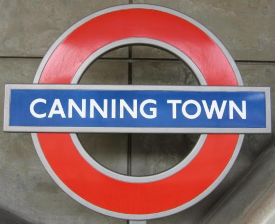 CANNING TOWN STATION