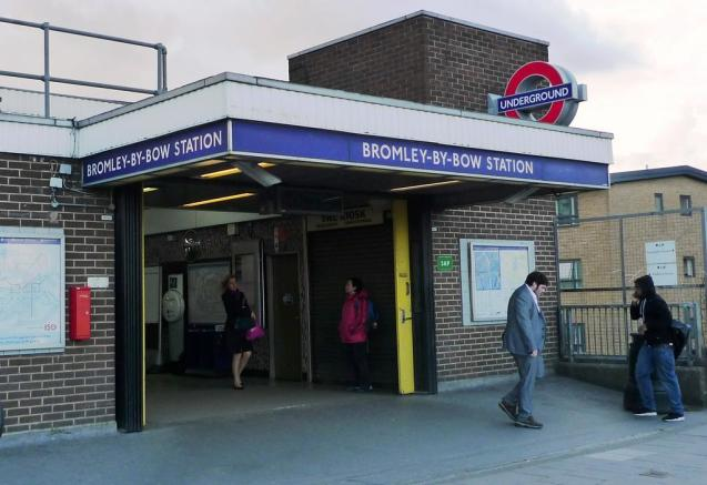 BROMLEY-BY-BOW STATION