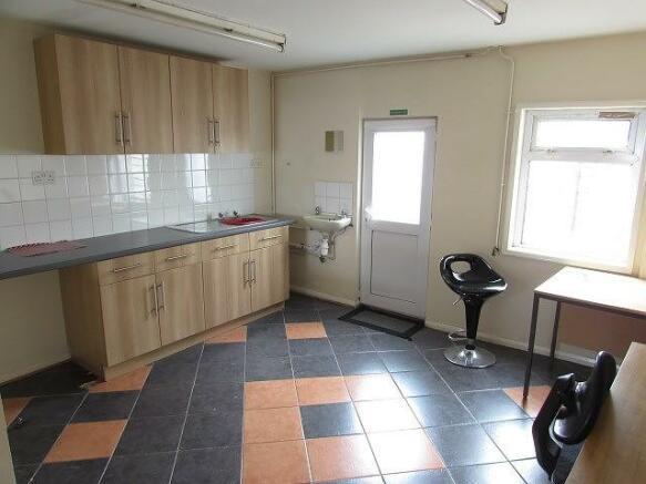 Rear Office/Kitchen