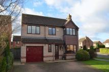 4 bed Detached home for sale in Bramble Court, Nettleham...