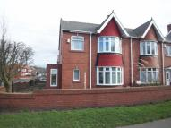 semi detached house in Hartford Road East...