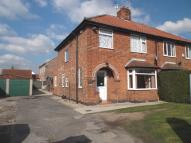 3 bed semi detached house in Mill Lane, Wigginton...