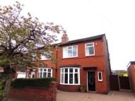 semi detached property for sale in Stockport Road, Denton...