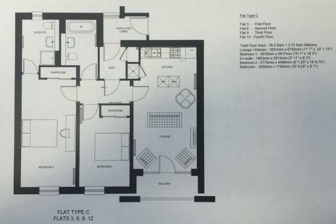 Type C Floor Plan