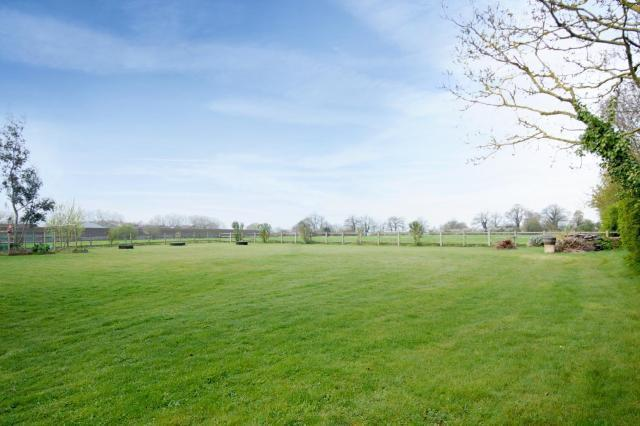 Paddock, adjacent to fields