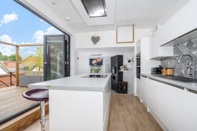 Kitchen and Sun Terrace