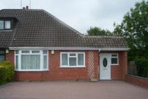 Randall Avenue Semi-Detached Bungalow to rent