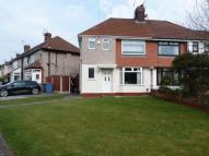 semi detached house in Southmead Gardens...