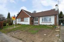 2 bed Semi-Detached Bungalow in Chesham, Buckinghamshire