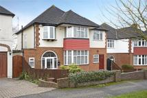 Detached house in Merrow Road, Cheam...
