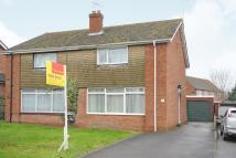 Cronshaw Close semi detached house for sale