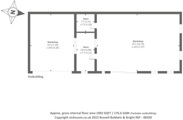 Out Building Floor Plan