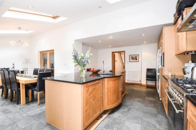 Open Plan Kitchen/Breakfast/Family Room