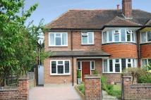 semi detached property in Petersham, TW10