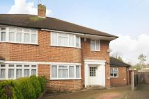 semi detached house in Edgware, Middlesex