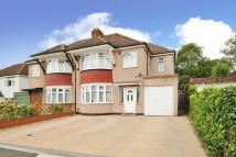 semi detached house in Harrow Weald, Middlesex