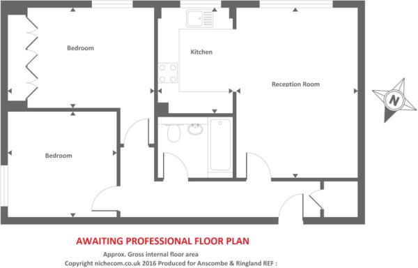 Awawting professional floor plan